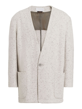 FEAROFGODZEGNA plaster print one button jacket