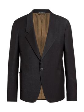 FEAROFGODZEGNA black wool blazer jacket