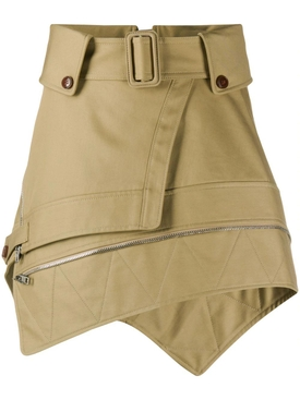 Deconstructed belted trench skirt CHINO