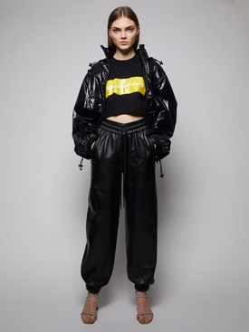 HIGH WAISTED DIPPED FRONT JOGGER