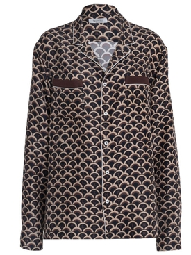 Silk Scale print shirt