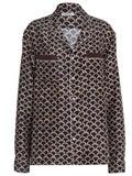 Valentino - Silk Scale Print Shirt - Men