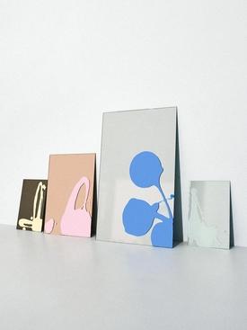 x Sabine Marcelis Mirrors Rose Mirror + Pink Splash Medium