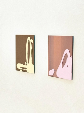 x Sabine Marcelis Mirrors Rose Mirror + Pink Splash Small