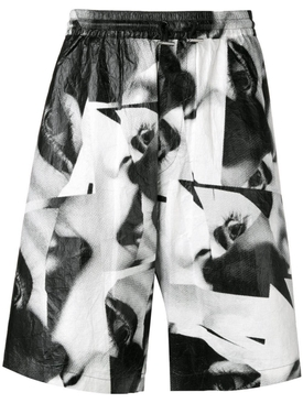 Mert & Marcus 1994 x Dsquared2 Eye printed shorts