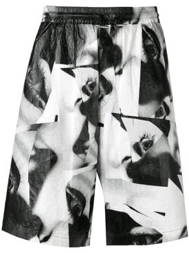 Dsquared2 - Mert & Marcus 1994 X Dsquared2 Eye Printed Shorts - Men