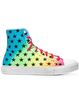 Amiri - Star Print High Top Sneakers - Men