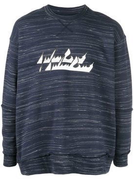 Julien David - Marl Logo Sweatshirt - Men