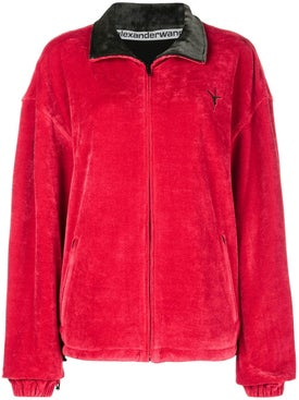 Alexanderwang - Crushed Velour Track Jacket - Men