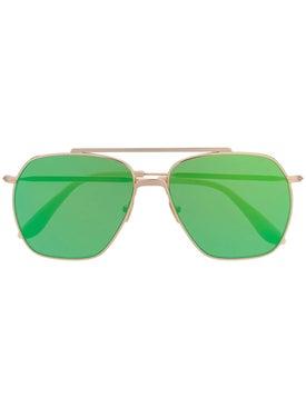 Acne Studios - Green Metal Sunglasses - Women