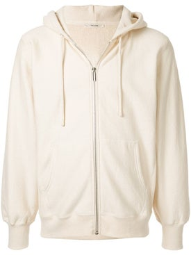 The Row - Cream Zipped Hoodie - Men
