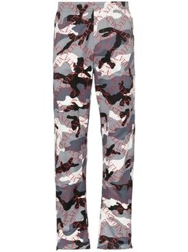 VLTN print camo pants