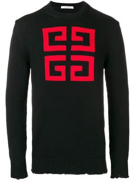 Givenchy - Logo Sweater Black - Men