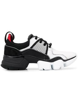 Givenchy - Black And White Jaw Sneakers - Men