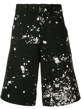 Oamc - Splatter Bermuda Shorts - Men
