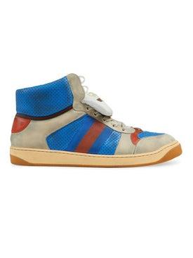 Gucci - Virtus Hi-top Sneakers Blue - Men
