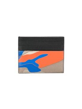 Valentino - Colorful Camo Print Card Holder - Women