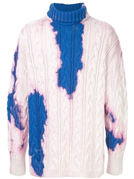 Tie-Dye Knit Sweater
