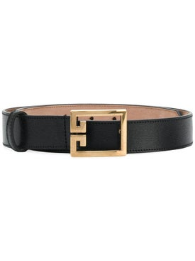 Givenchy - Gv3 Logo Belt Black - Women