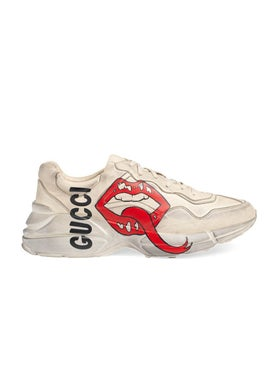 Gucci - Printed Rhyton Sneaker - Men