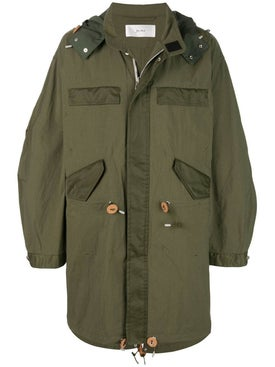 Julien David - Washed Nylon Parka - Men