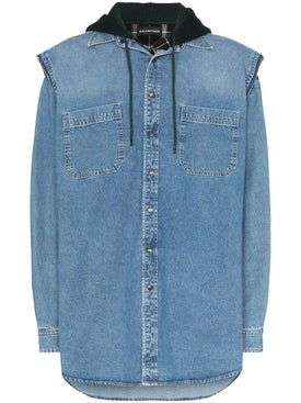 Balenciaga - Layered Denim Shirt - Men