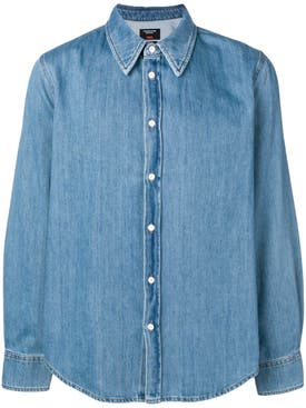 Calvin Klein 205w39nyc - Jaws Denim Shirt Blue - Men