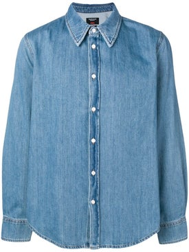 Calvin Klein 205w39nyc - Jaws Denim Shirt - Denim