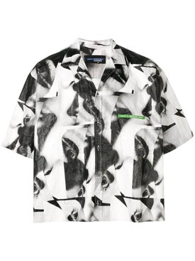 Dsquared2 - Mert & Marcus 1994 X Dsquared2 Abstract Boxy Shirt - Men