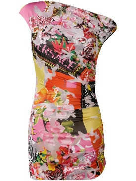 Versace - Floral Mini Dress - Women