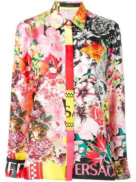 Versace - Floral Print Blouse - Women