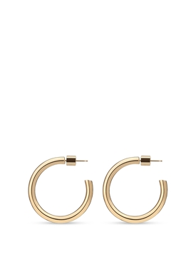 GOLD-TONE MINI LILLY HOOPS