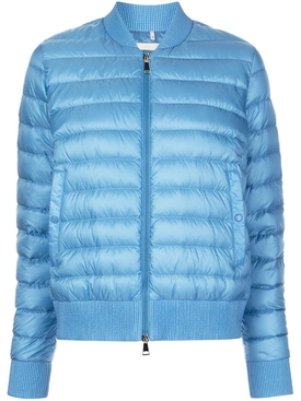 Blue padded abricot jacket