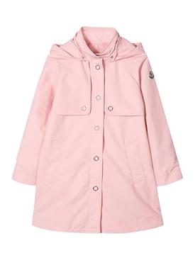 Kids light-pink raincoat