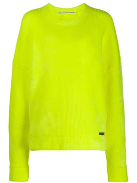 Alexanderwang - Ribbed Round Neck Sweater Yellow - Men