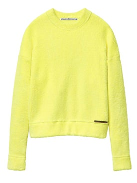 Alexanderwang - Chynatown Pullover Sweater Yellow - Women