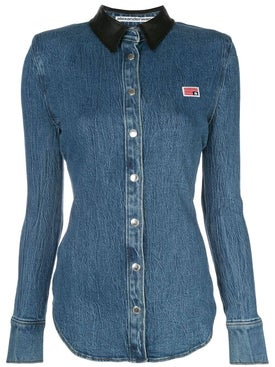 Alexanderwang - Long Sleeved Denim Shirt - Women