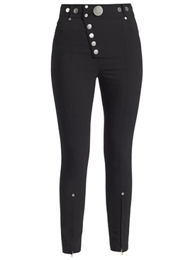 High Waisted Legging With Snap Closure