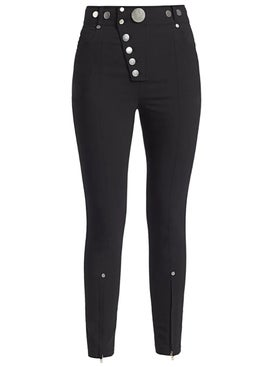 Alexanderwang - High Waisted Legging With Snap Closure - Women