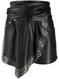 Alexanderwang - Studded Faux-leather Shorts - Women