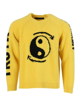 Yellow Truth and Harmony cashmere pullover sweater