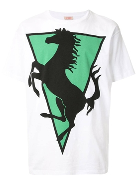 Raf Simons - White Horse T-shirt - Men