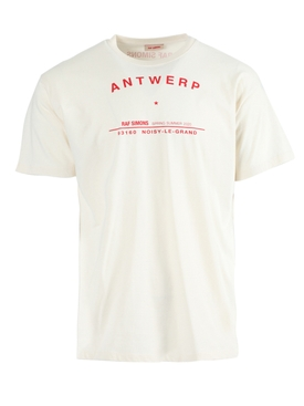 Antwerp Tour Logo T-Shirt ECRU