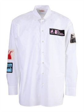 Raf Simons - My Own Private Antwerp Button-down Shirt White - Men