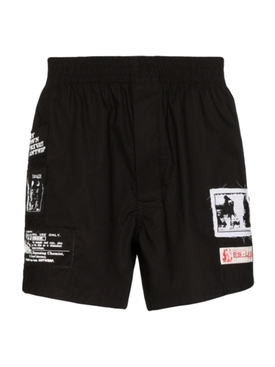 Patches Boxer Shorts BLACK
