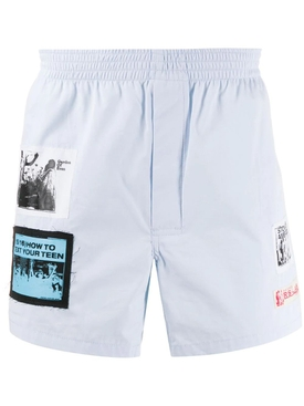 Patches Boxer Shorts LIGHT BLUE