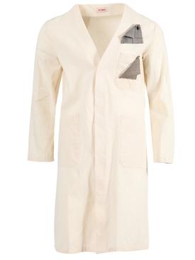 Ivory Classic Labo Coat