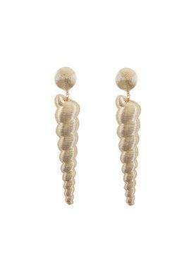 Rebecca De Ravenel - Large Twisty Gold Earrings - Women