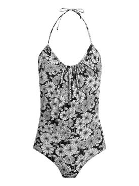 Charlotte Floral Halter Swimsuit