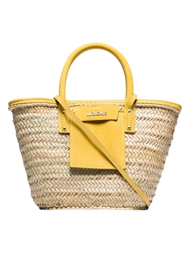 Jacquemus - Yellow Le Panier Soleil Tote Bag - Women